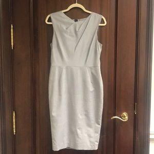 LK Bennett Grey Sleeveless Dress